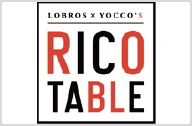 LOBROS×YOCCO'S RICO TABLE(ロブロス バイ ヨッコーズ リコ テーブル)